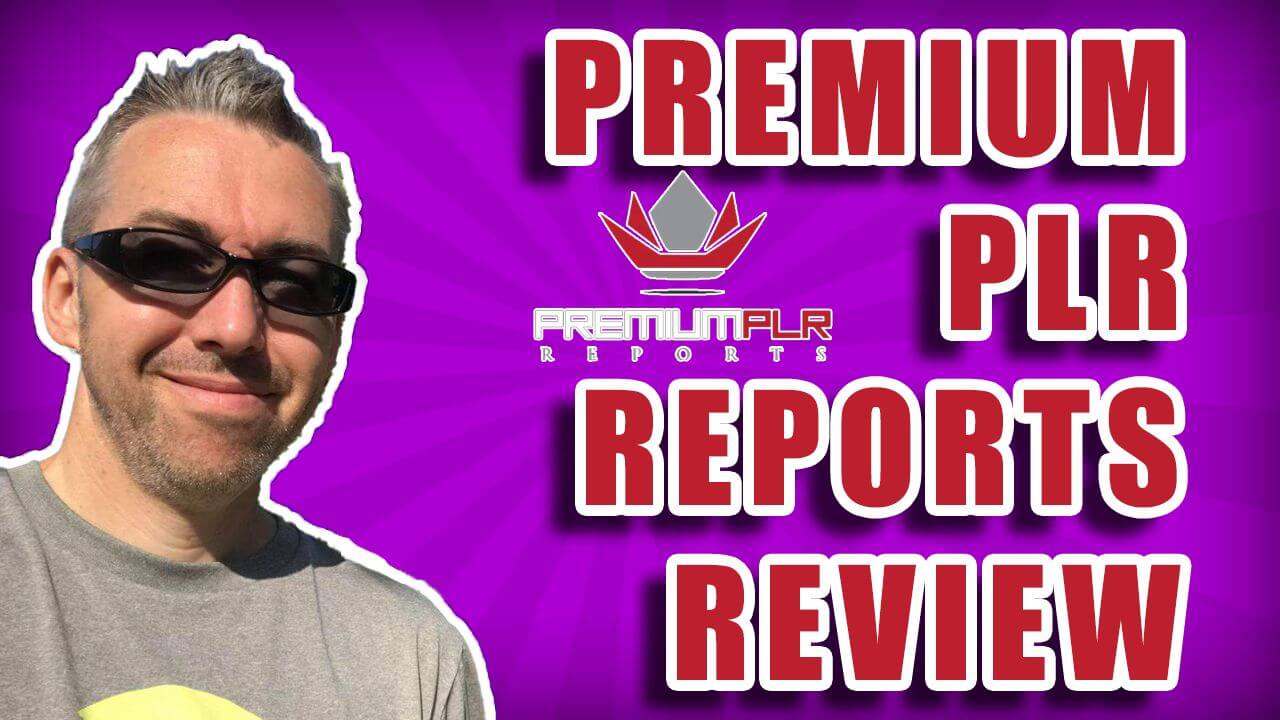 Premium PLR Reports Review